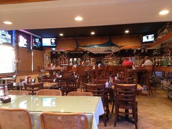 Ocean Harvest Market & Grill:                   bar area