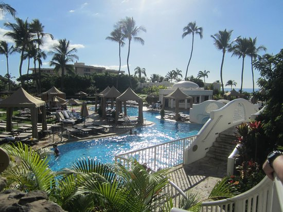 Fairmont Kea Lani, Maui:                   One of three pools
