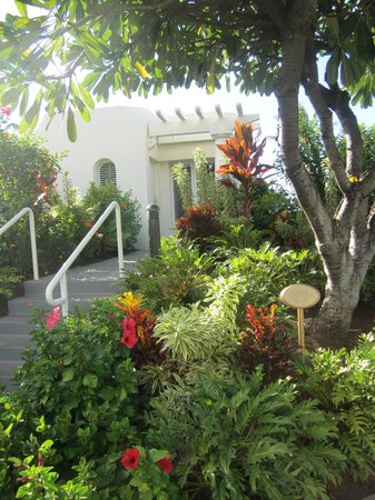 Fairmont Kea Lani, Maui:                   Landscaping by villas
