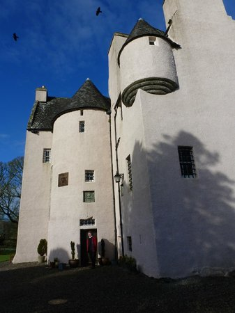 Barcaldine Castle:                   Pink and beautiful in the sun light