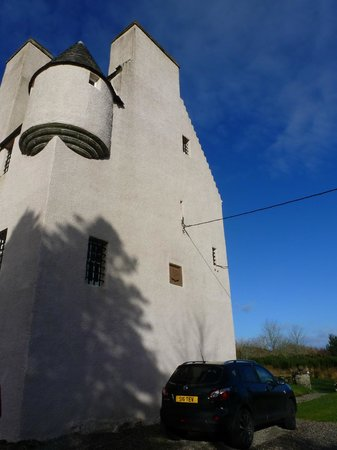 Barcaldine Castle:                   tall and imposing