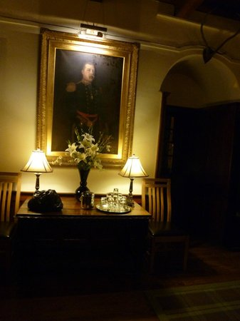 Barcaldine Castle:                   atmospheric