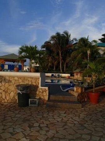 Samsara Cliffs Resort:                   patio