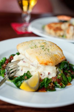 Beaver Creek Chophouse: Colorado Striped Bass
