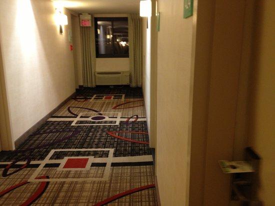 Holiday Inn Newark Airport:                   hallway