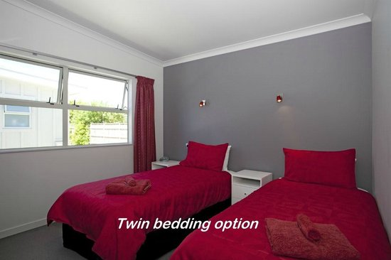 Martinborough Mews: Twin bedding option