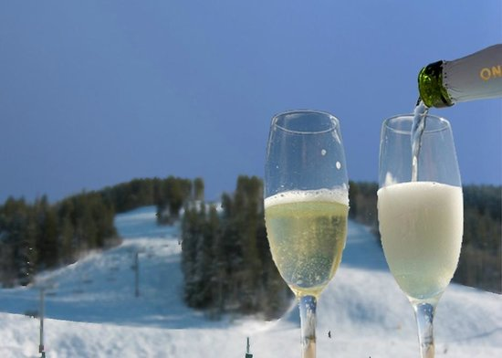Beaver Creek Chophouse: Champagne Toast
