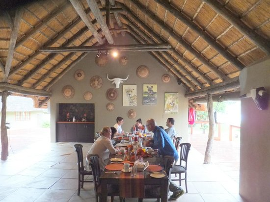 Arathusa Safari Lodge:                   dining room. Food was outstanding