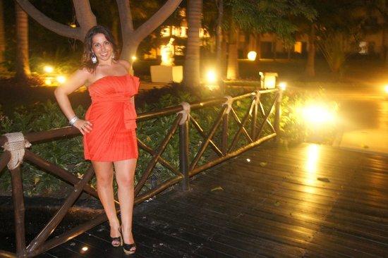 Grand Sunset Princess All Suites Resort:                   Beautiful nights