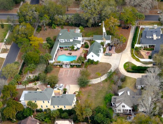 Grandview Bed and Breakfast:                   Arial view of the Grandview