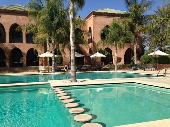 Palais Aziza & Spa:                                     heated and cold swimming pools