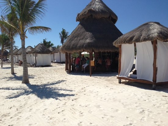 Secrets Maroma Beach Riviera Cancun:                   Relaxing on the Beach