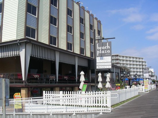 Beach Plaza Hotel:                   hotel  from the boardwalk