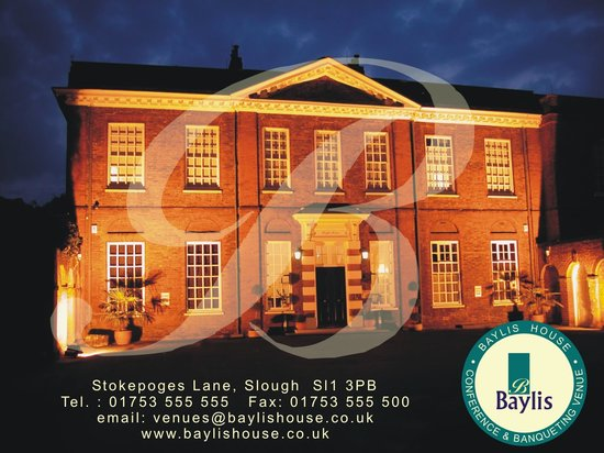 Baylis House: Historic Grade 1 listed Mansion