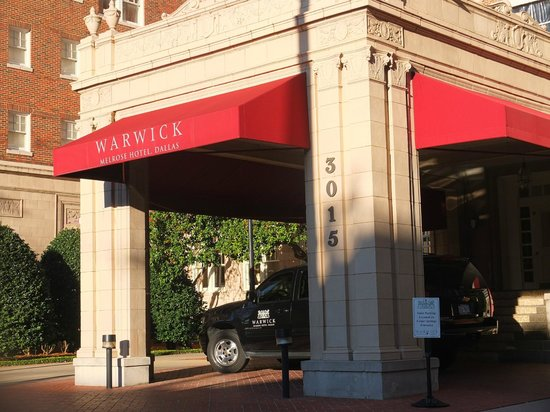 Warwick Melrose - Dallas:                   Oak Lawn Avenue Entrance