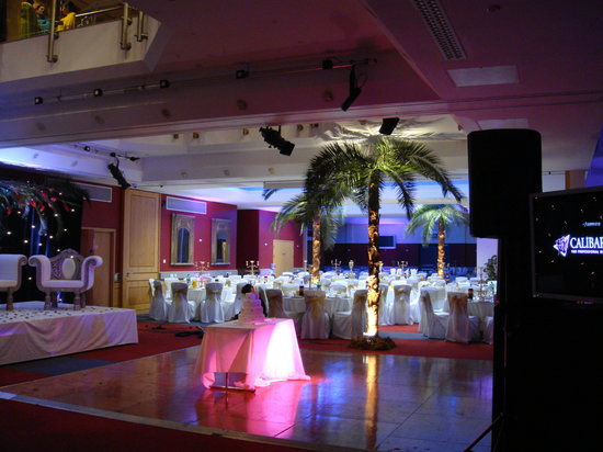 Baylis House: Venue dressing