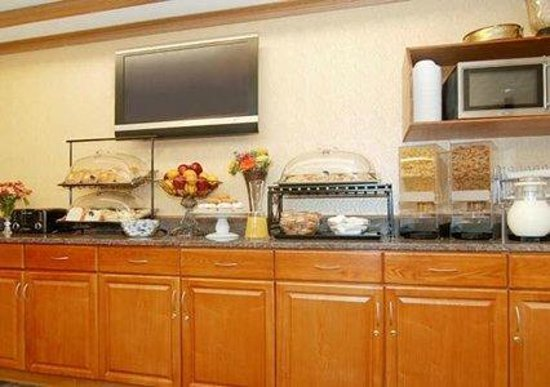 Days Inn Runnemede Philadelphia Area: Breakfast Bar
