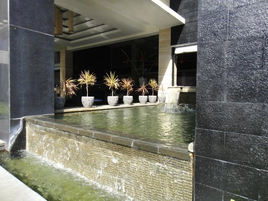 Aston Kuta Hotel & Residence:                   Outside lobby