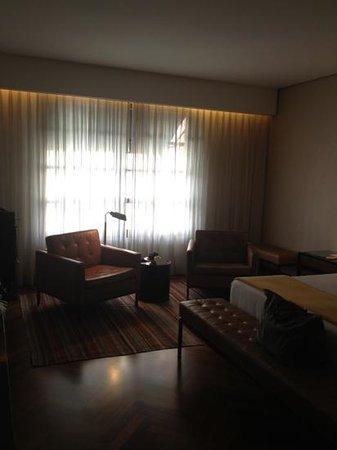 Hotel Fasano São Paulo:                   chambre