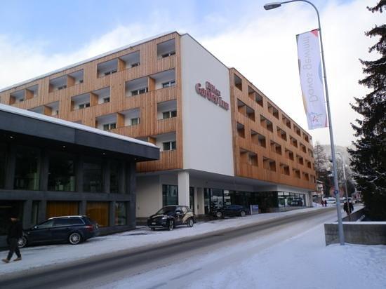 Hilton Garden Inn Davos:                   View from congress centre