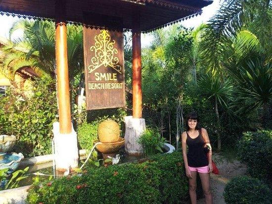 Smilebeach Resort:                   la entrada