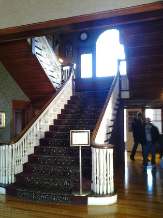 "Stanley Hotel:                   Interesting ""glow"" on main staircase"