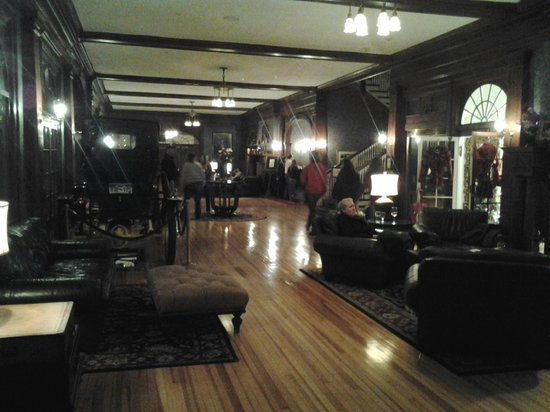 Stanley Hotel:                   Lobby area