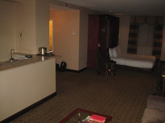 Hilton Chicago:                   1679 with wet bar and Murphy bed