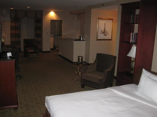 Hilton Chicago:                   1679 from bed