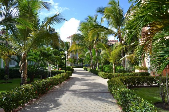 Luxury Bahia Principe Ambar Blue Don Pablo Collection:                                                                         Walking around