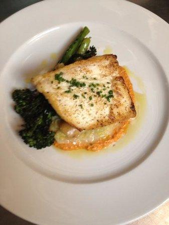 Amuse Restaurant:                   halibut...so good!