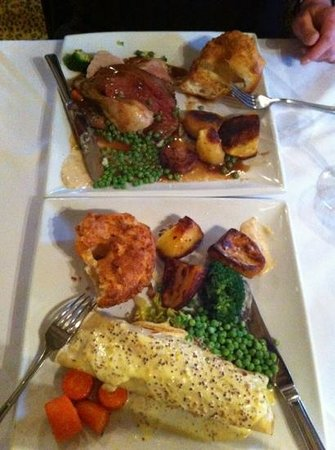 Who'd A Thought It Restaurant:                   roasts !