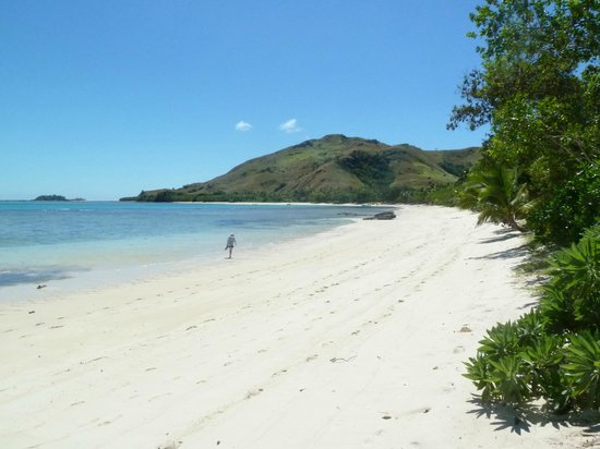 Blue Lagoon Beach Resort:                   Beach at Blue Lagoon, Tasawas, Fiji