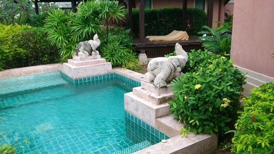Fair House Villas & Spa:                   the villa pool
