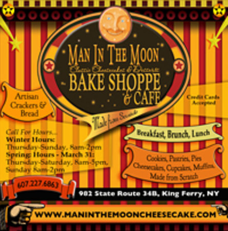 The Man in the Moon Bake Shoppe and Cafe: Welcome