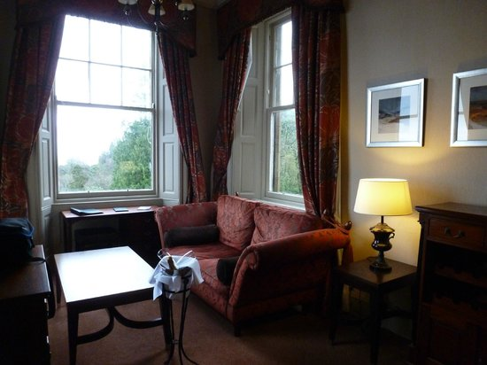 Stonefield Castle Hotel:                   Nice suite