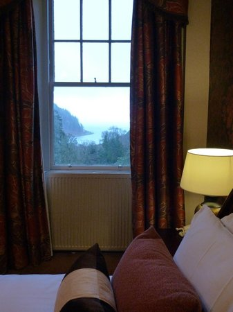 Stonefield Castle Hotel:                   view from second window