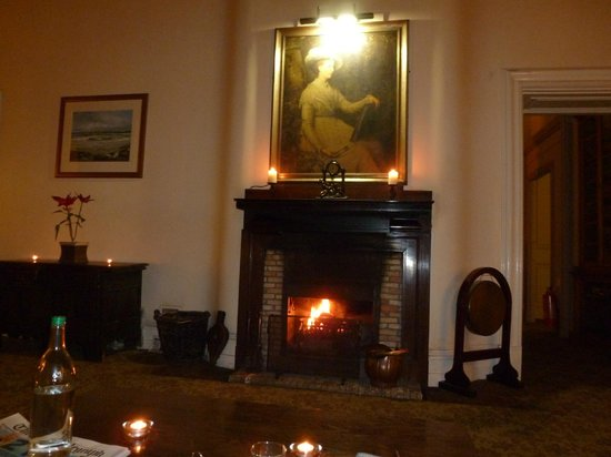 Nice Fireplace Roaring Log Fire Picture Of Stonefield Castle Hotel