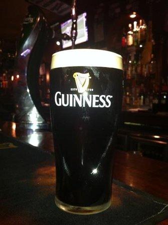 The Dubliner:                   Perfect Guinness!