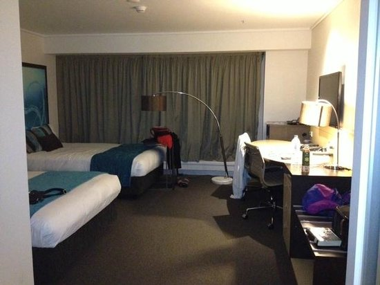 Novotel Melbourne on Collins:                   Room with 2 double beds