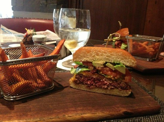 The Ritz-Carlton, Dove Mountain :                                     Ignite: Hamburger $18 & Sweet Potato Fries $5
