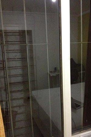 Costa do Rio Hotel:                   visão da janela