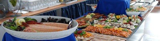 Grenaa, Denmark: Buffet