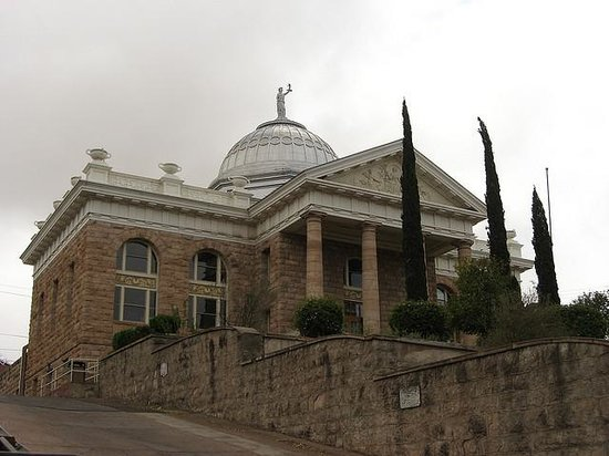 Historic Santa Cruz County Courthouse Nogales Az Top