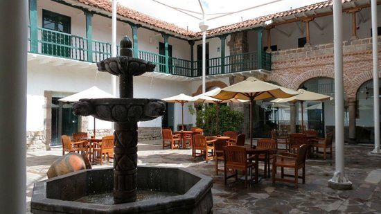 Casa Andina Premium Cusco:                   One of several courtyards