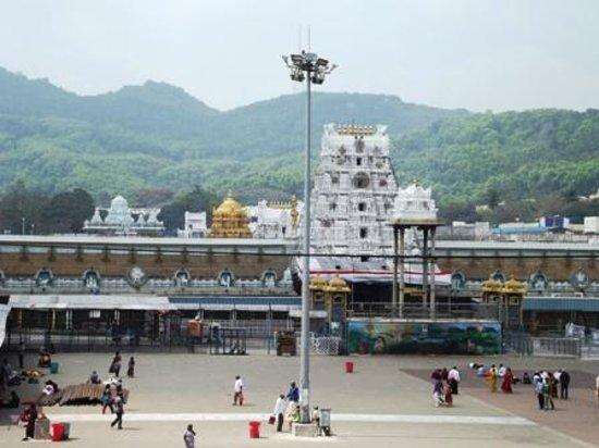 Tirumala Temple:                   the temple complex