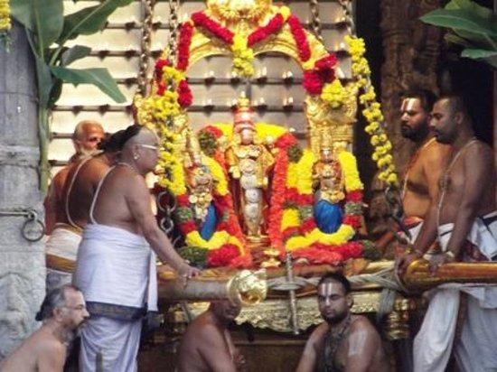 Tirumala Temple:                   sahastra deepalankar seva every evening