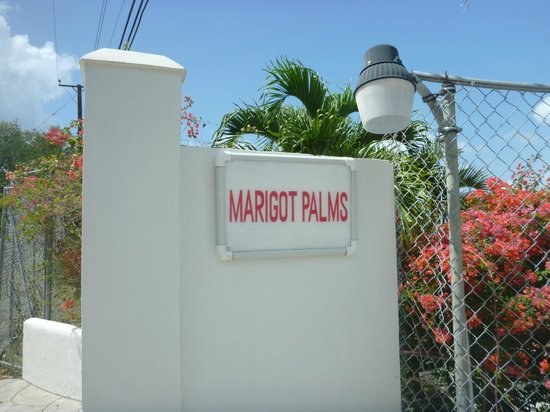 Marigot Palms Luxury Caribbean Guesthouse and Apartments:                   upper entrance