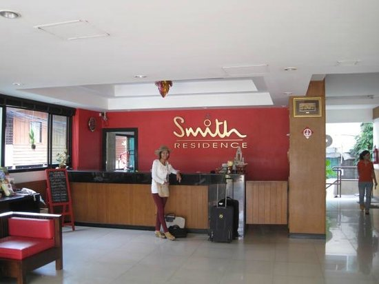 Chiangmai Smith Residence:                   Check in desk                 