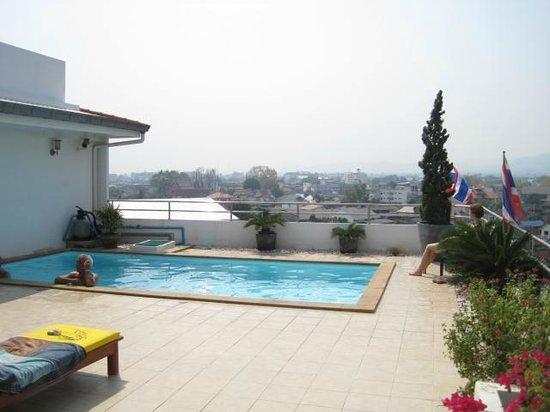 Chiangmai Smith Residence:                   roof top pool                 